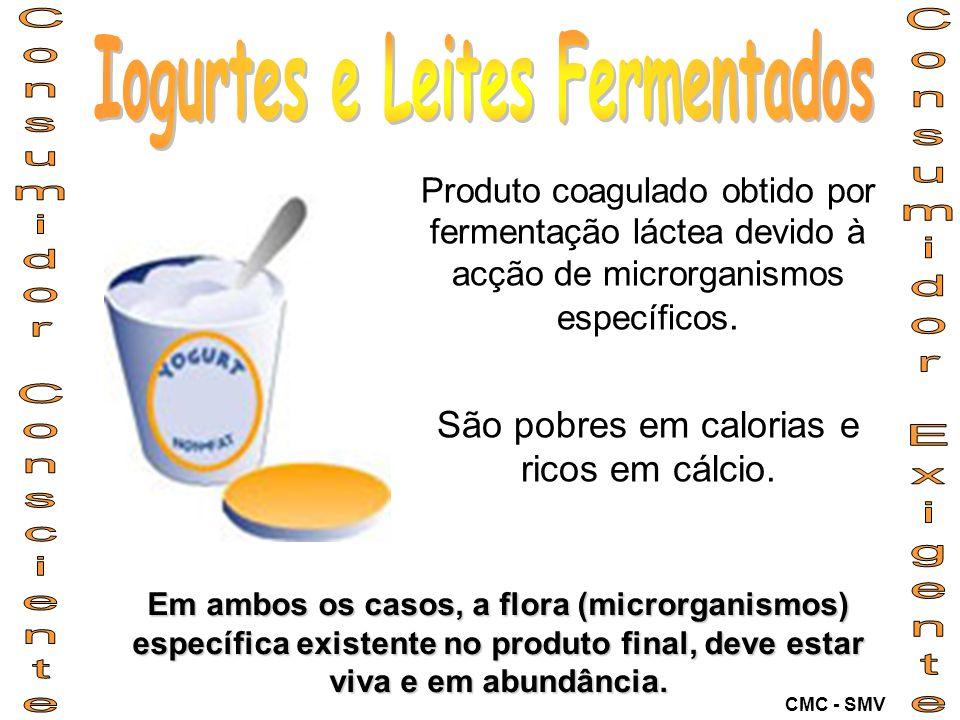 Iogurtes e Leites Fermentados