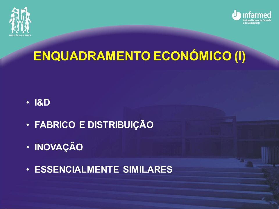 ENQUADRAMENTO ECONÓMICO (I)