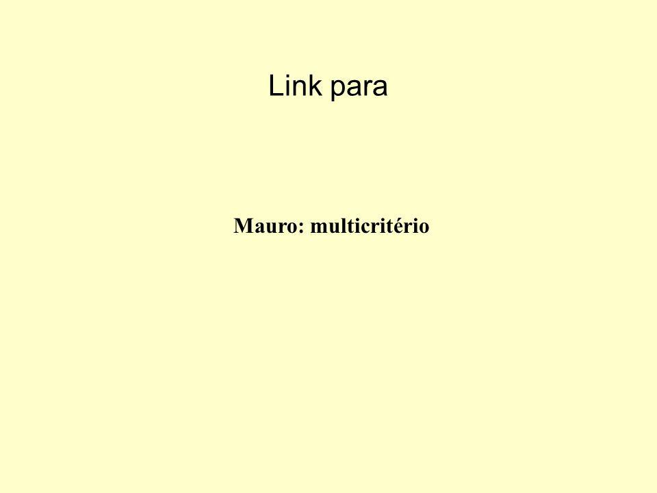 Link para Mauro: multicritério
