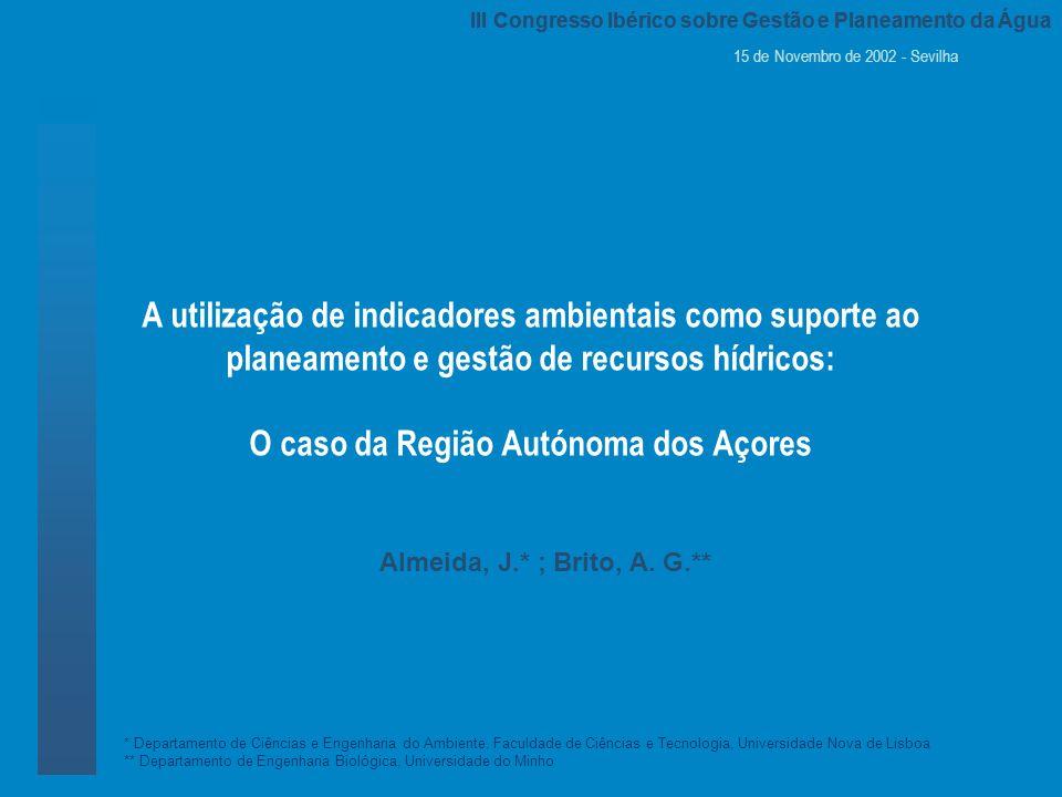 III Congresso Ibérico sobre Gestão e Planeamento da Água