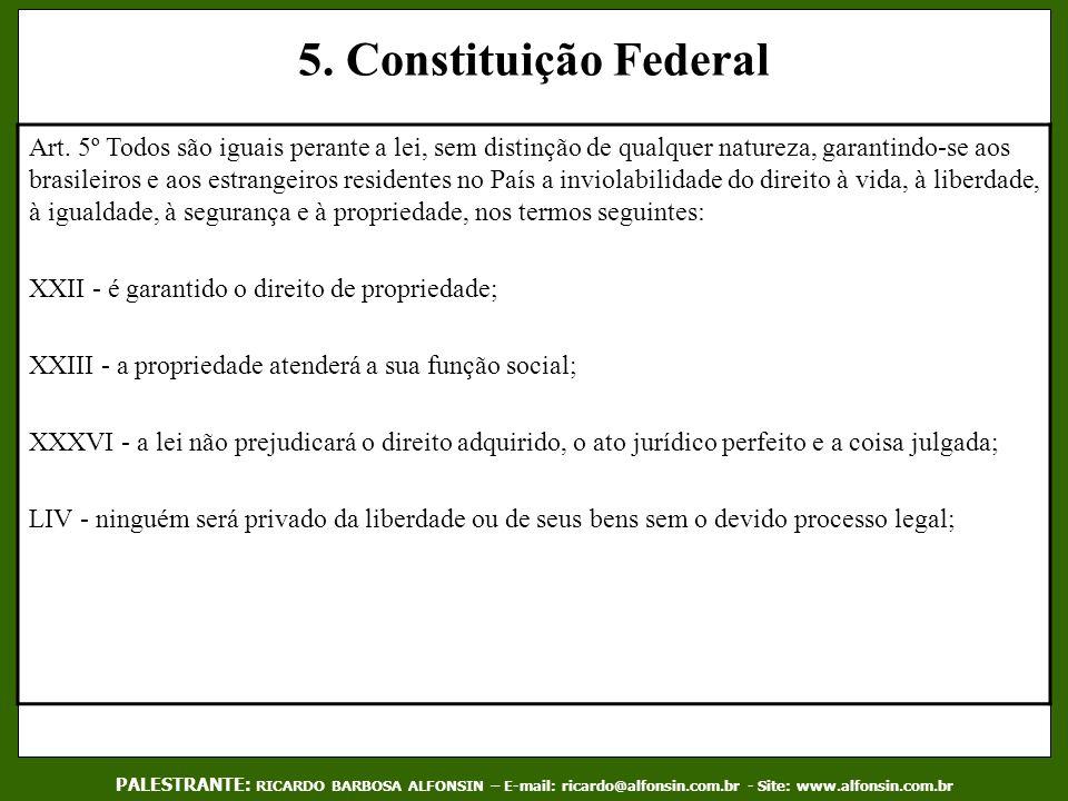 5. Constituição Federal