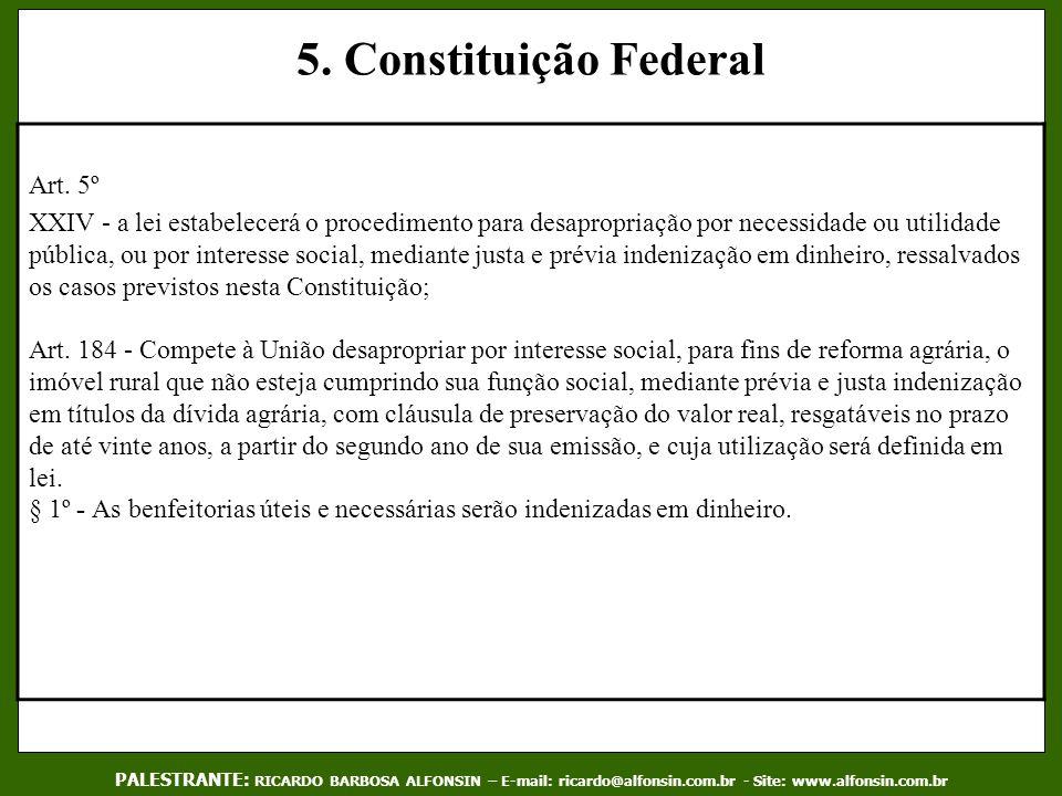 5. Constituição Federal Art. 5º