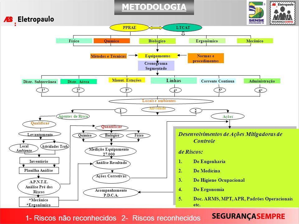Normas e procedimentos Cronograma Segmentado