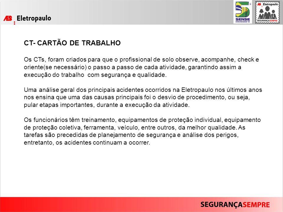 CT- CARTÃO DE TRABALHO