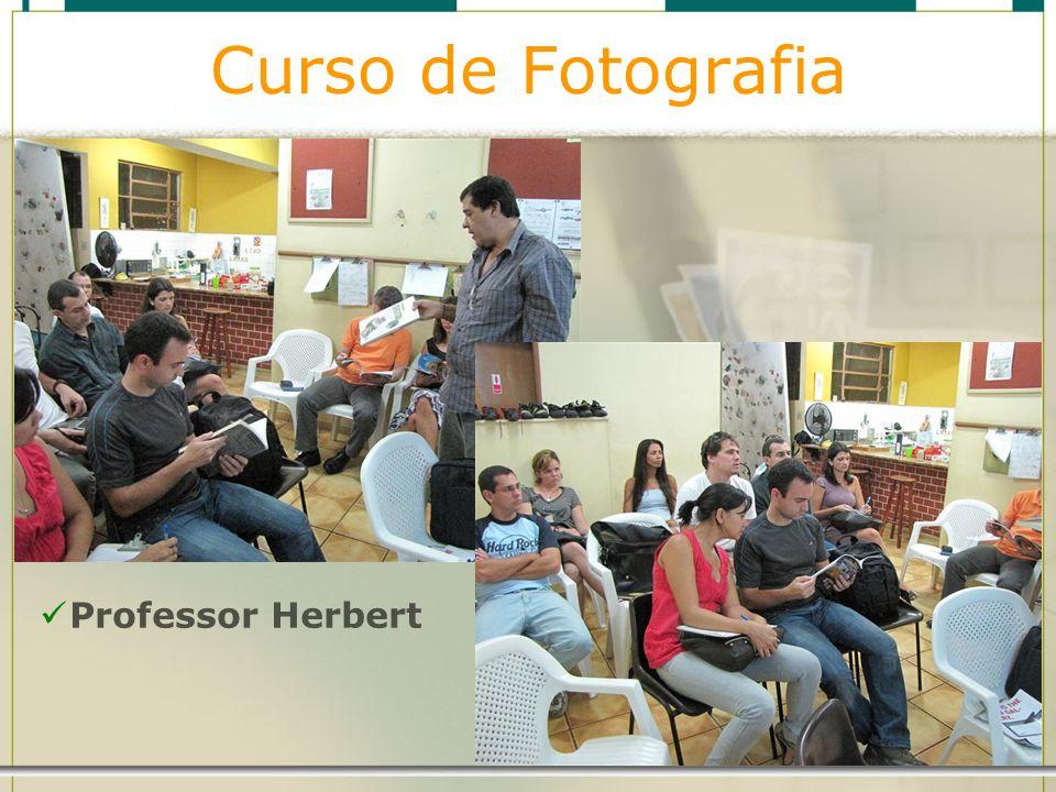 Curso de Fotografia Professor Herbert