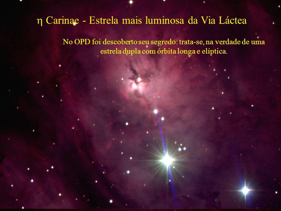  Carinae - Estrela mais luminosa da Via Láctea