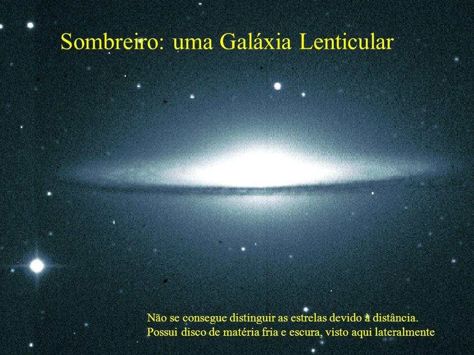 Sombreiro: uma Galáxia Lenticular