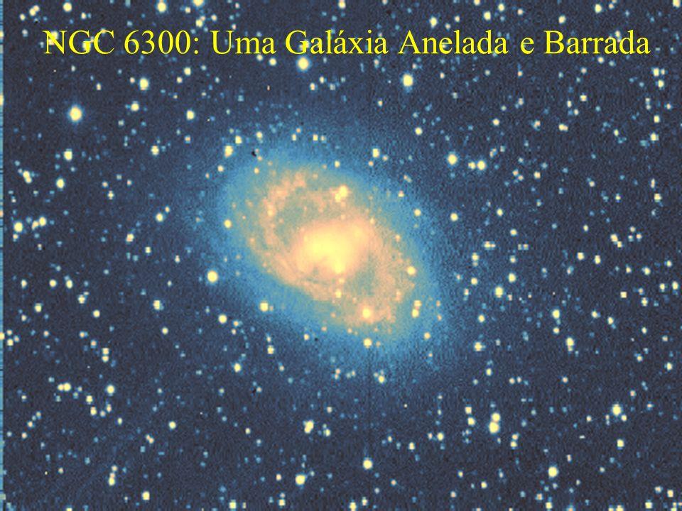 NGC 6300: Uma Galáxia Anelada e Barrada