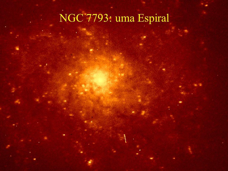 NGC 7793: uma Espiral