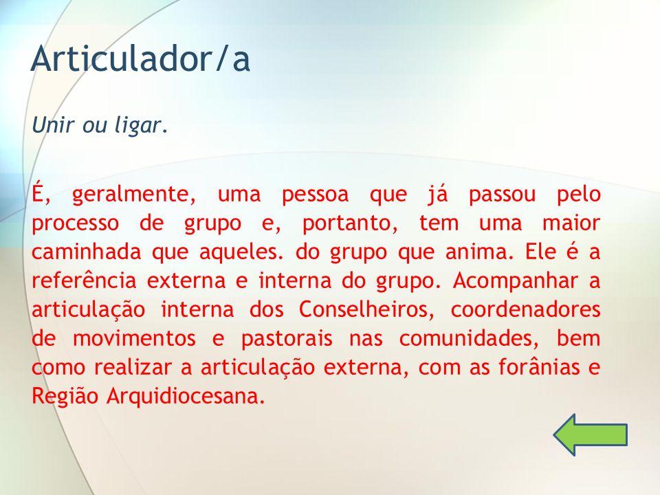 Articulador/a
