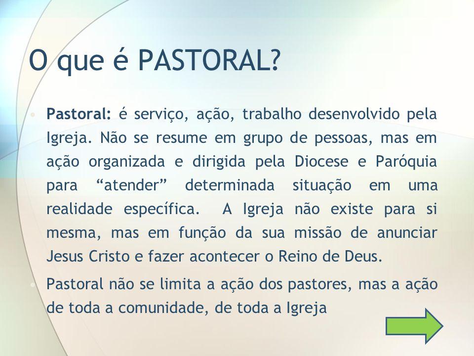 O que é PASTORAL