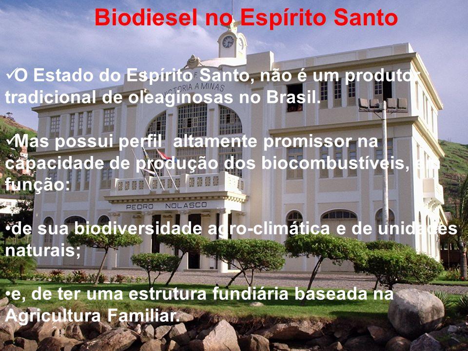Biodiesel no Espírito Santo