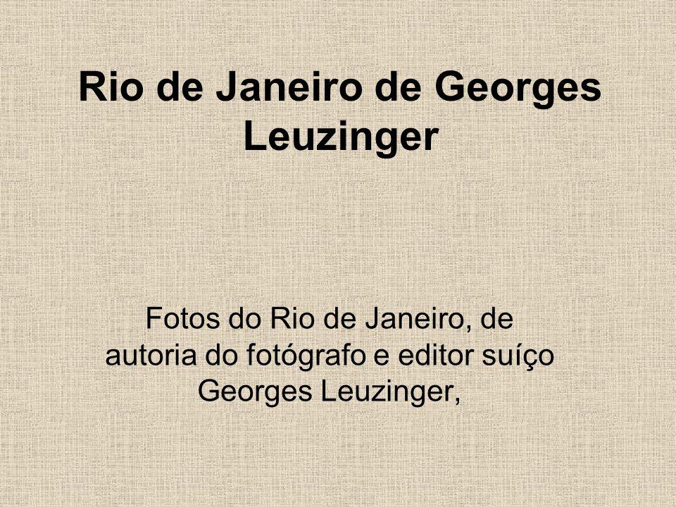 Rio de Janeiro de Georges Leuzinger