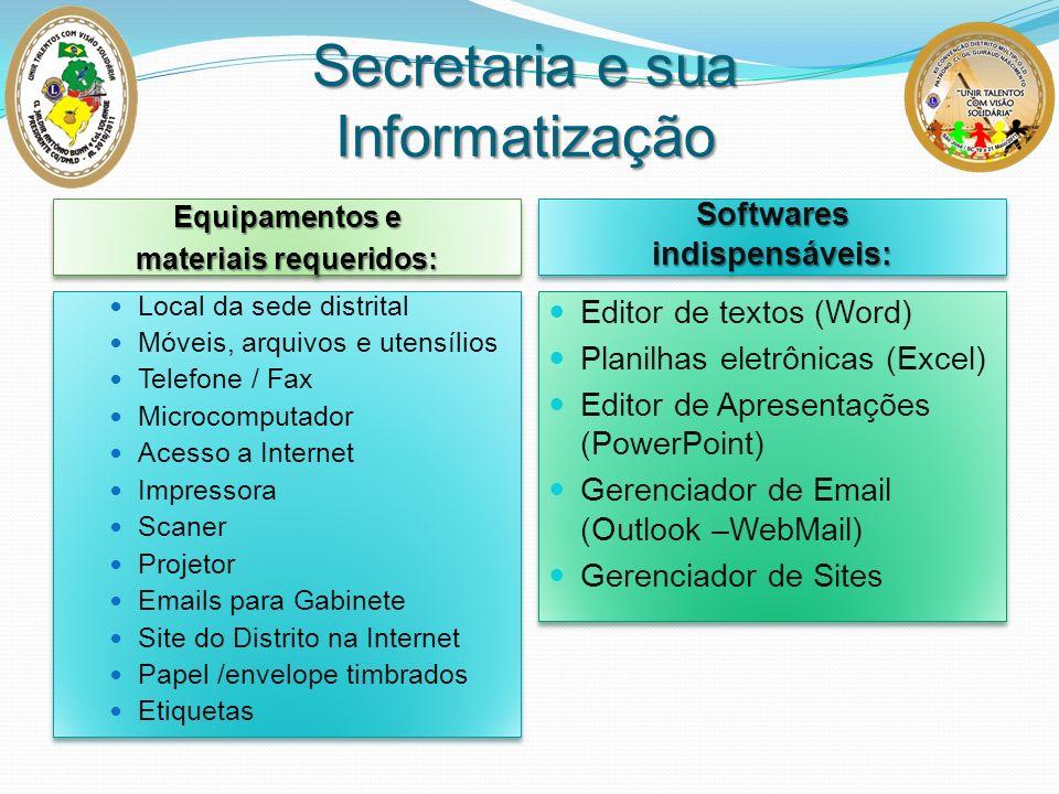 Secretaria e sua Informatização