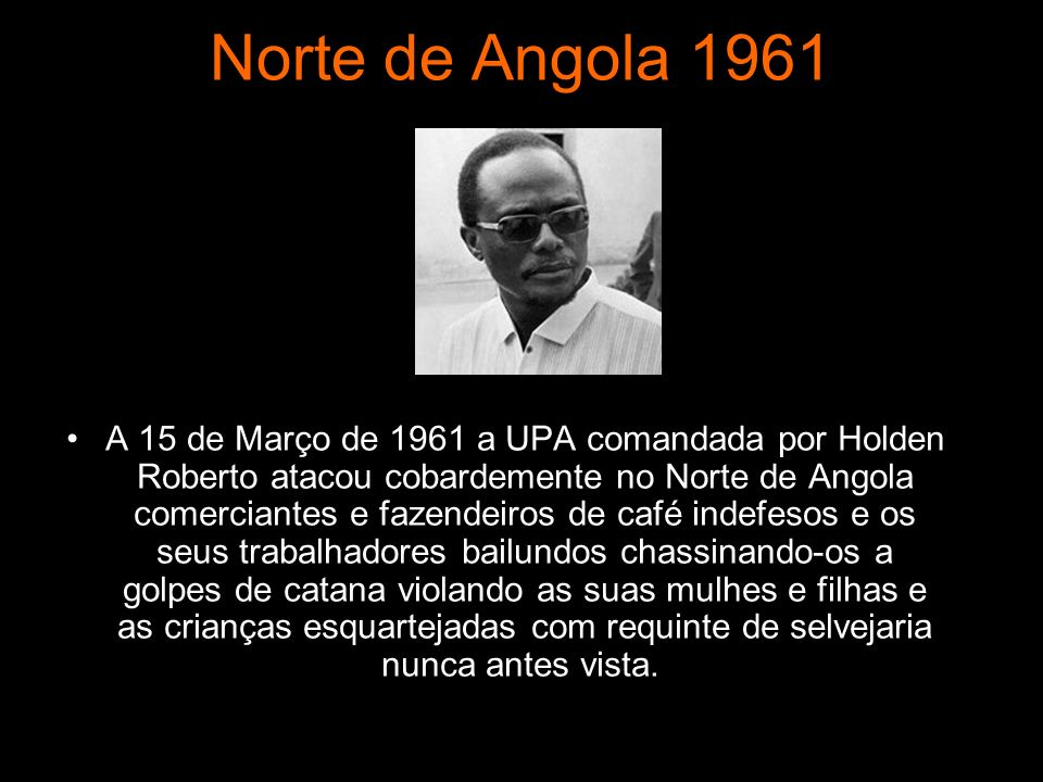 Norte de Angola 1961