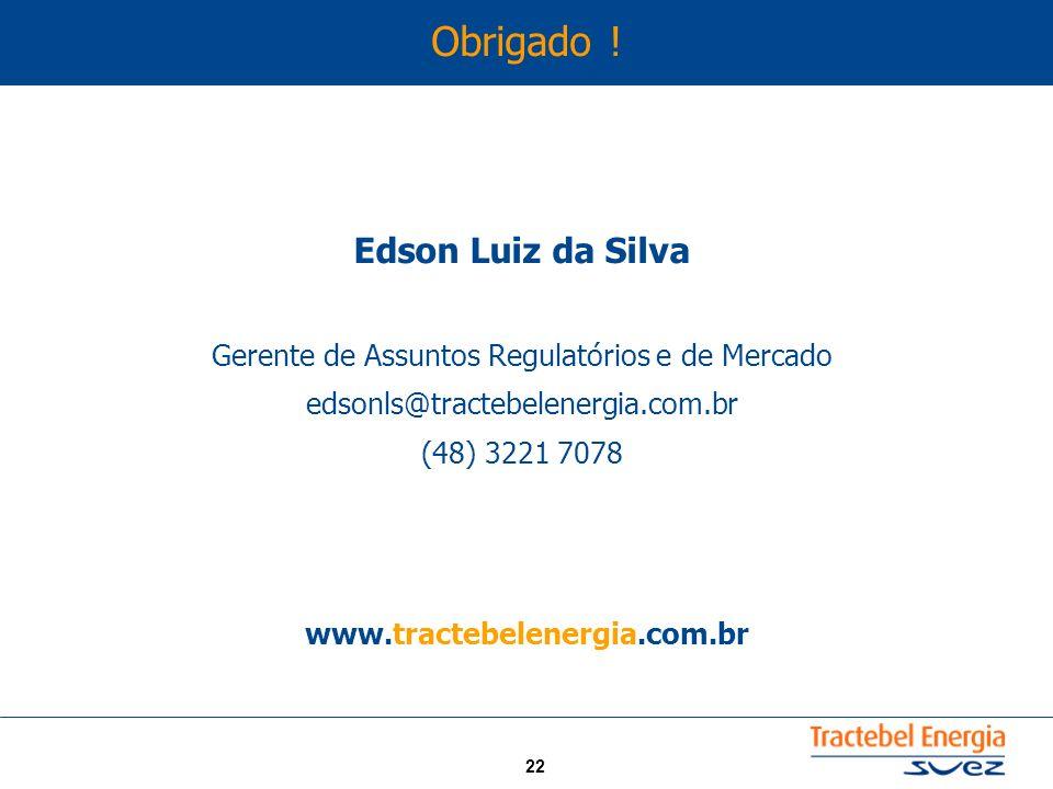 Gerente de Assuntos Regulatórios e de Mercado