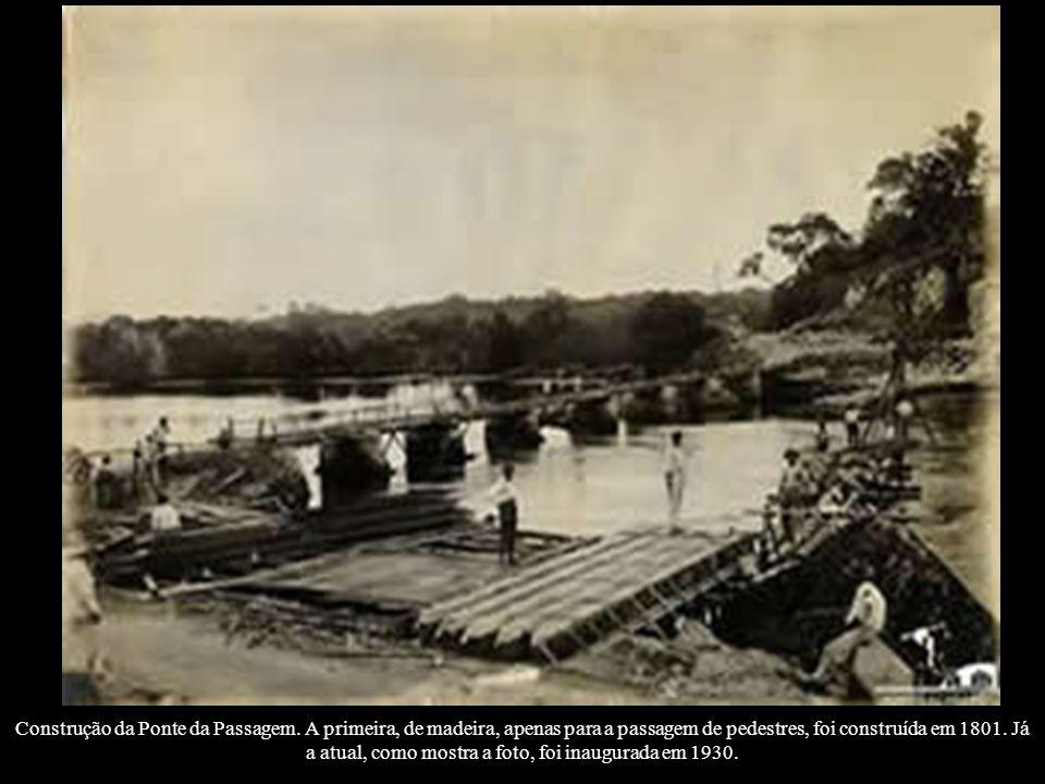 Construção da Ponte da Passagem