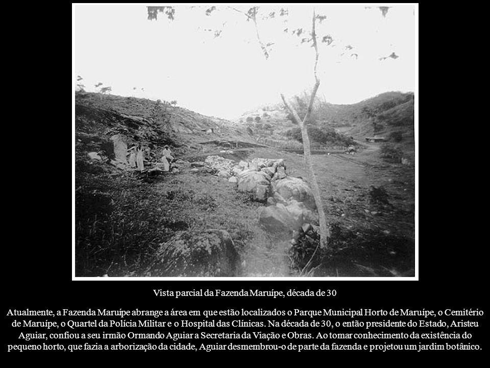 Vista parcial da Fazenda Maruípe, década de 30