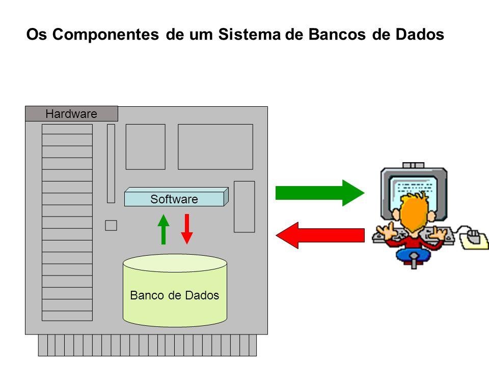 Os Componentes de um Sistema de Bancos de Dados
