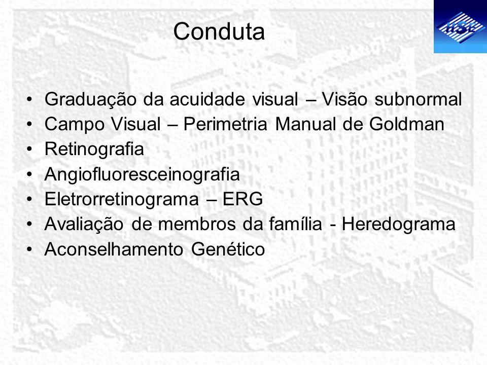 Conduta Graduação da acuidade visual – Visão subnormal