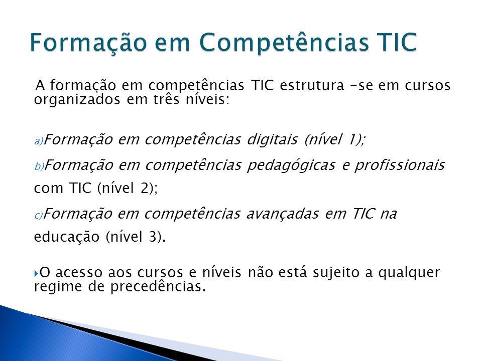 Formação em Competências TIC