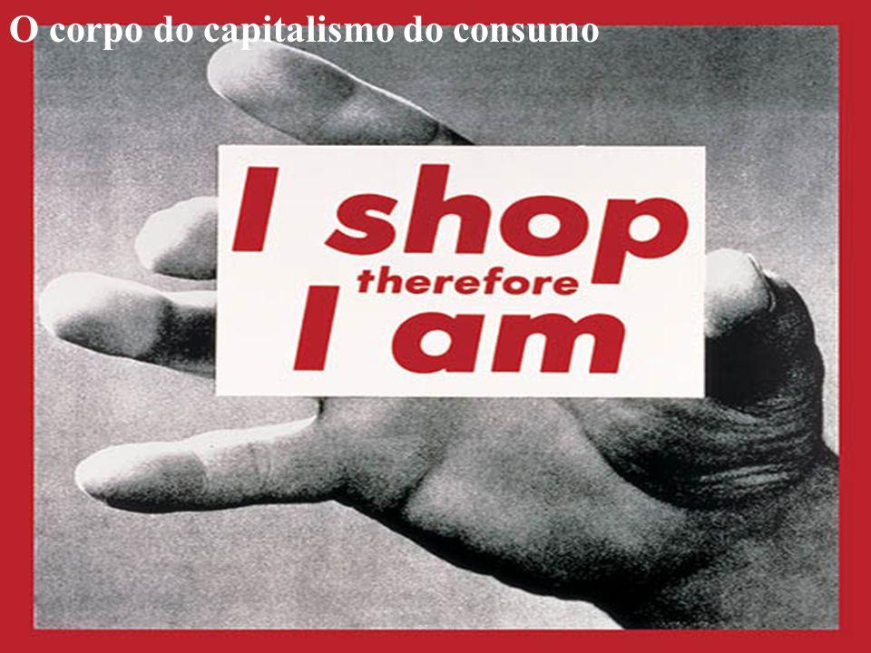 O corpo do capitalismo do consumo