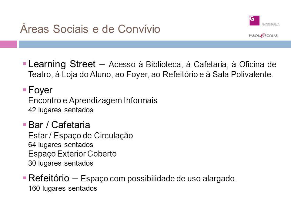 Áreas Sociais e de Convívio