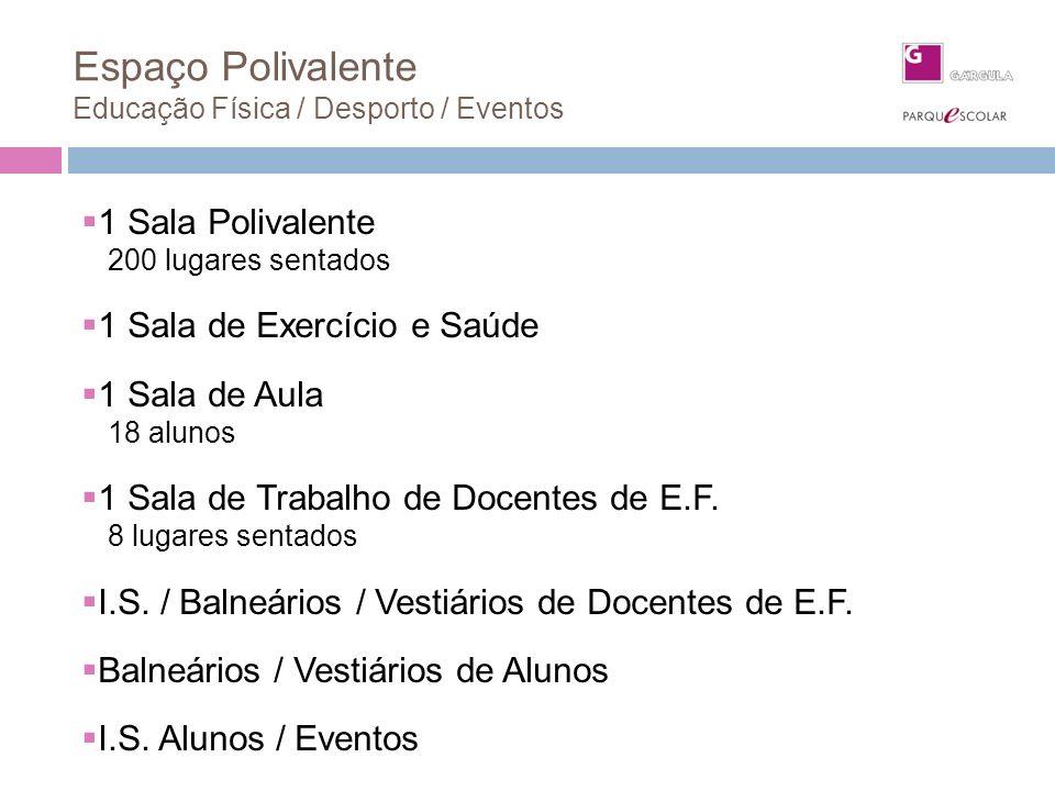 Espaço Polivalente Educação Física / Desporto / Eventos
