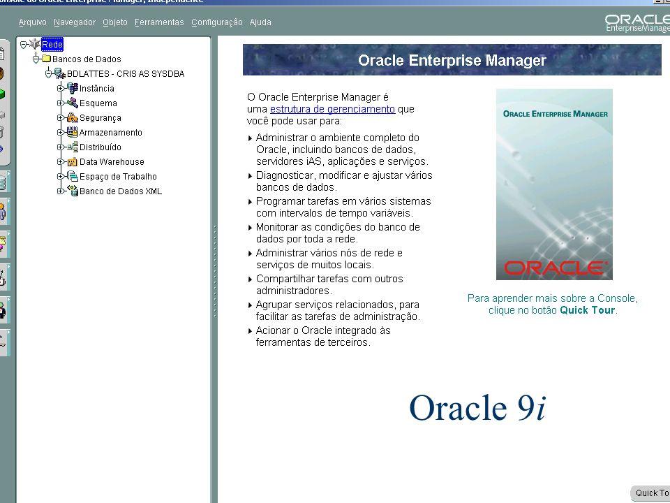 Oracle 9i Banco de Dados