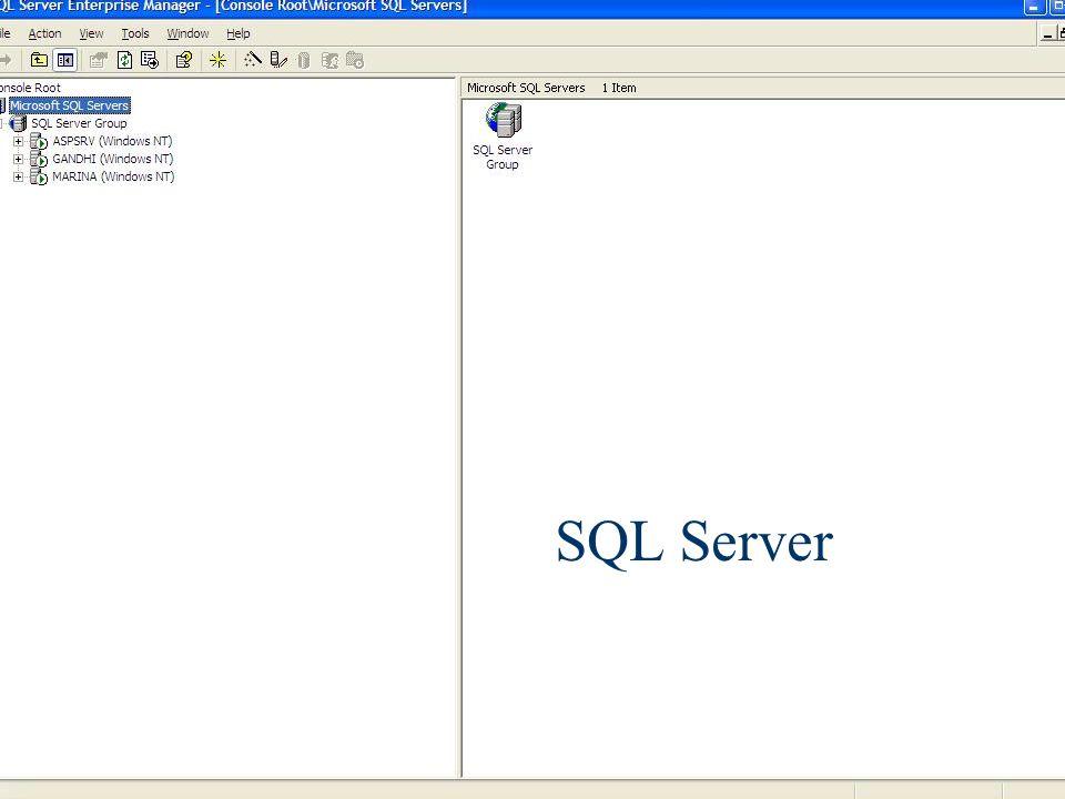 SQL Server Banco de Dados