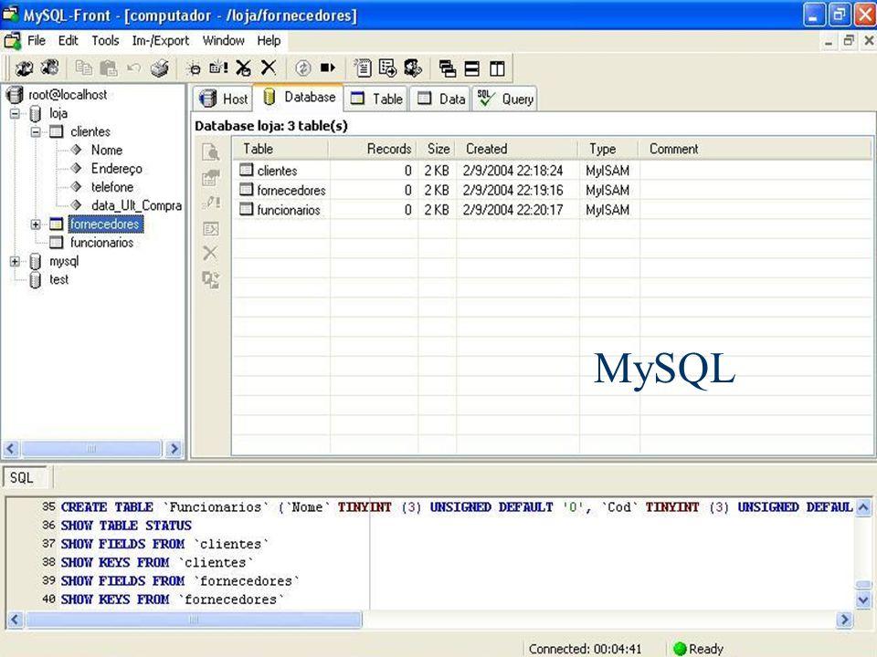MySQL Banco de Dados