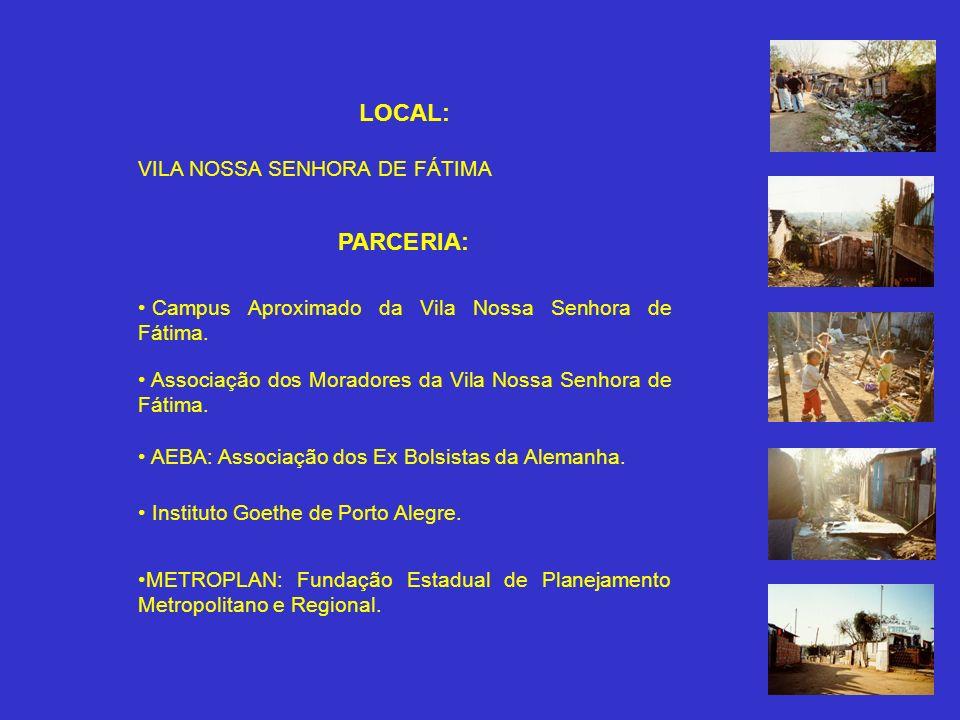 LOCAL: VILA NOSSA SENHORA DE FÁTIMA