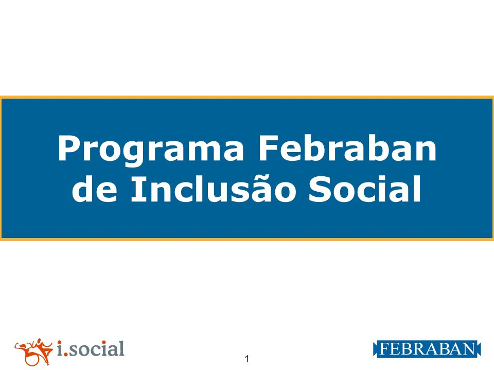 Programa Febraban de Inclusão Social