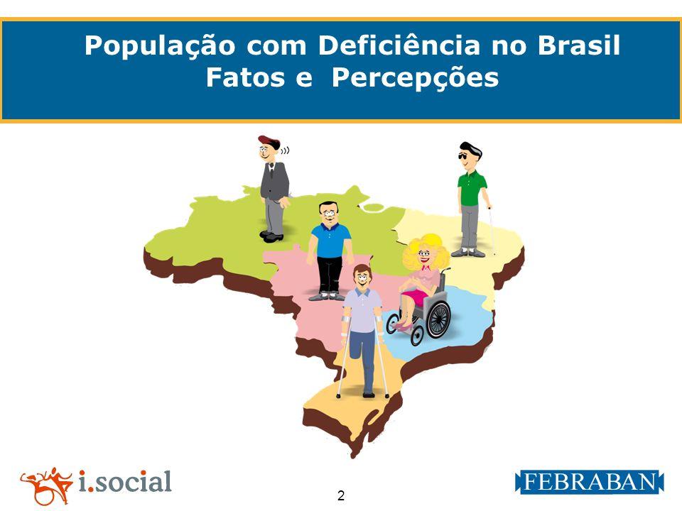 População com Deficiência no Brasil