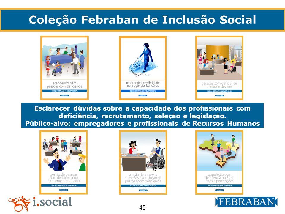 Coleção Febraban de Inclusão Social