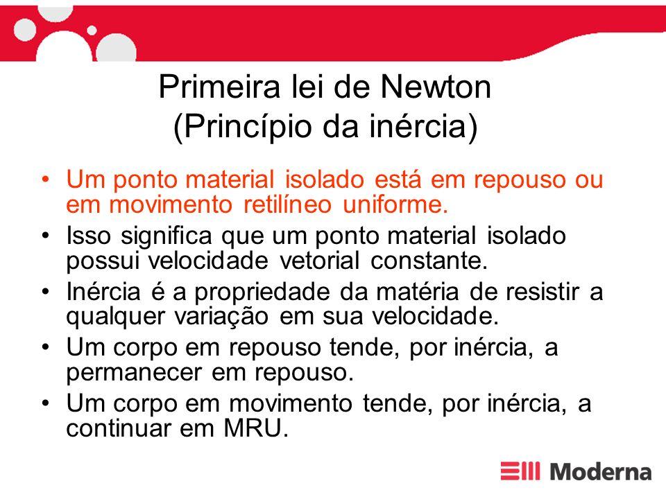 Primeira lei de Newton (Princípio da inércia)