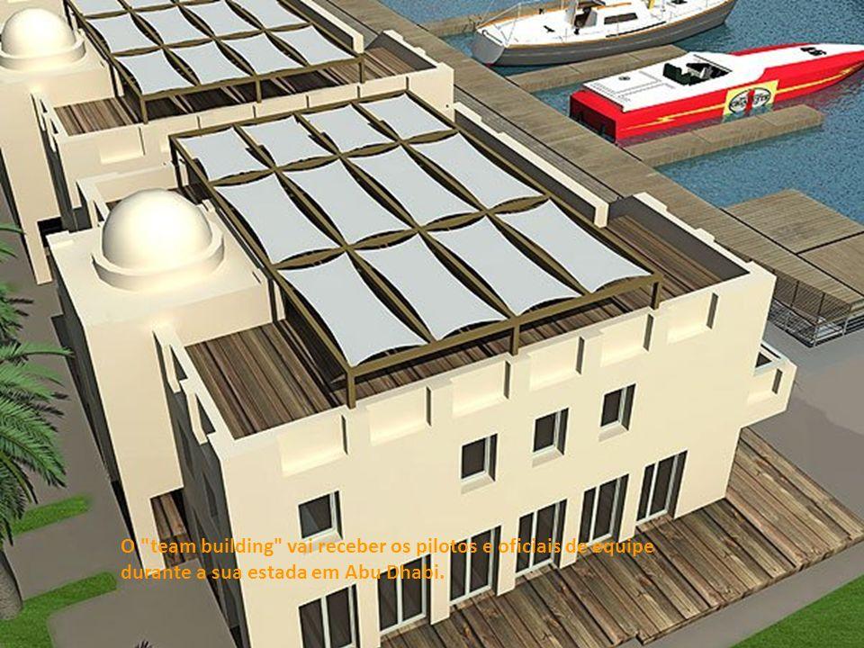 O team building vai receber os pilotos e oficiais de equipe durante a sua estada em Abu Dhabi.