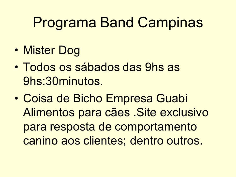Programa Band Campinas