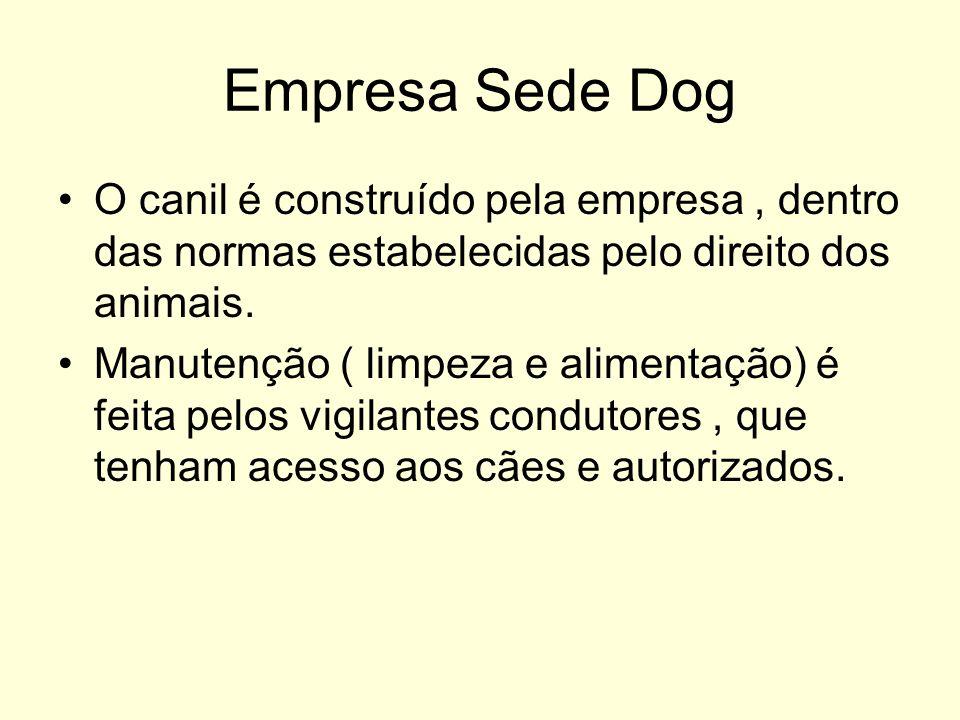 Empresa Sede Dog O canil é construído pela empresa , dentro das normas estabelecidas pelo direito dos animais.