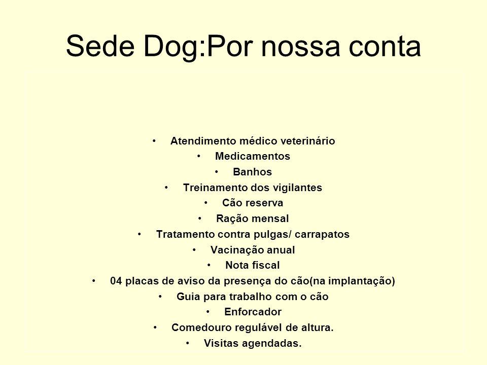 Sede Dog:Por nossa conta