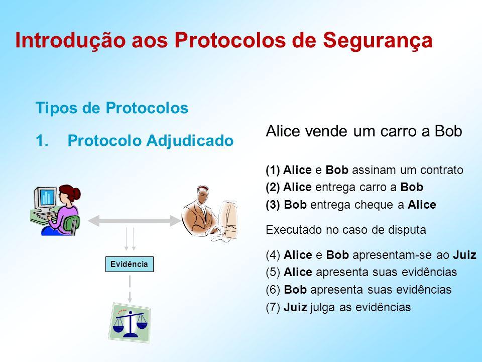 Introdução aos Protocolos de Segurança