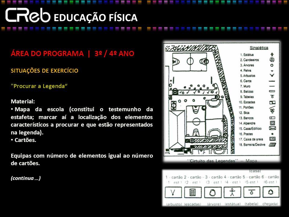 ÁREA DO PROGRAMA | 3º / 4º ANO