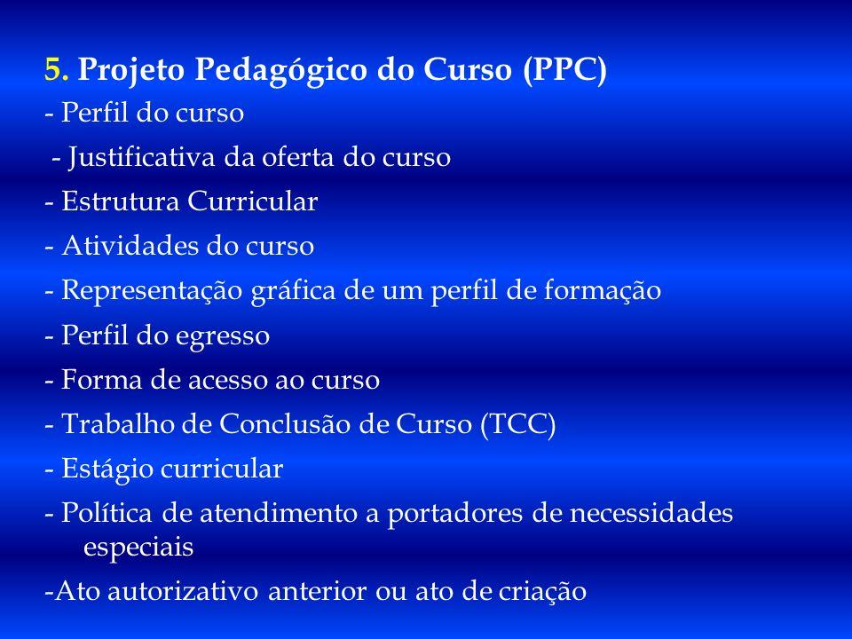 5. Projeto Pedagógico do Curso (PPC)