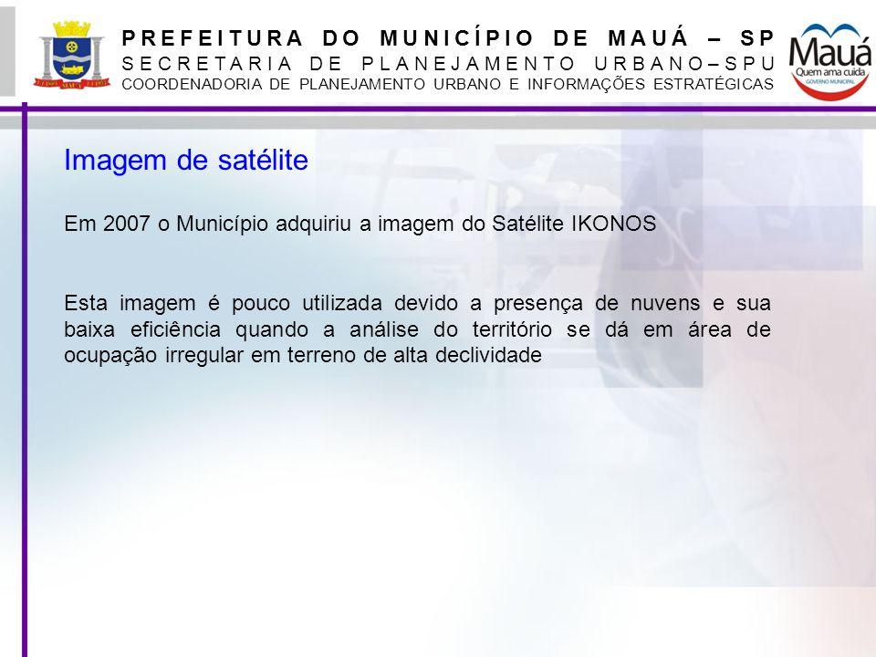 Imagem de satélite PREFEITURA DO MUNICÍPIO DE MAUÁ – SP