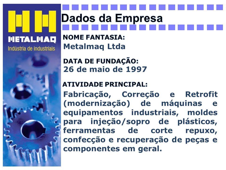 Dados da Empresa Metalmaq Ltda 26 de maio de 1997