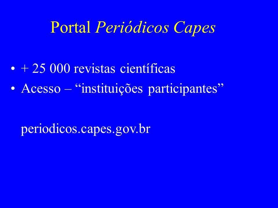 Portal Periódicos Capes