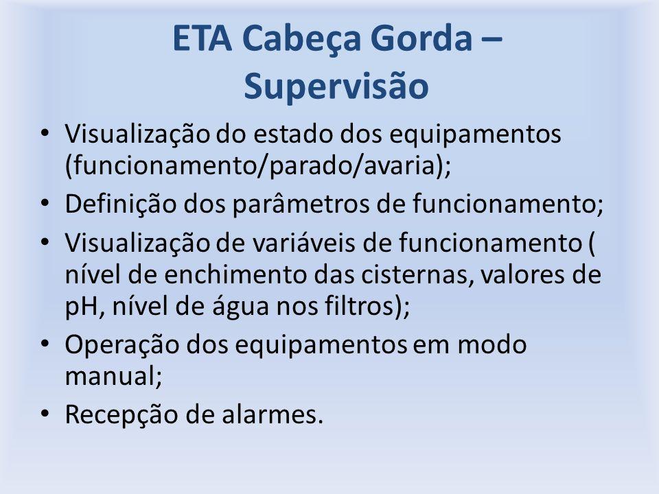 ETA Cabeça Gorda – Supervisão