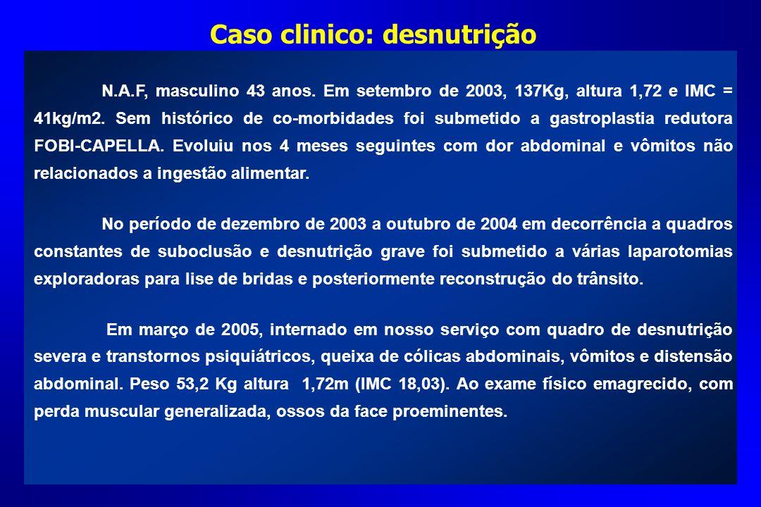 Caso clinico: desnutrição