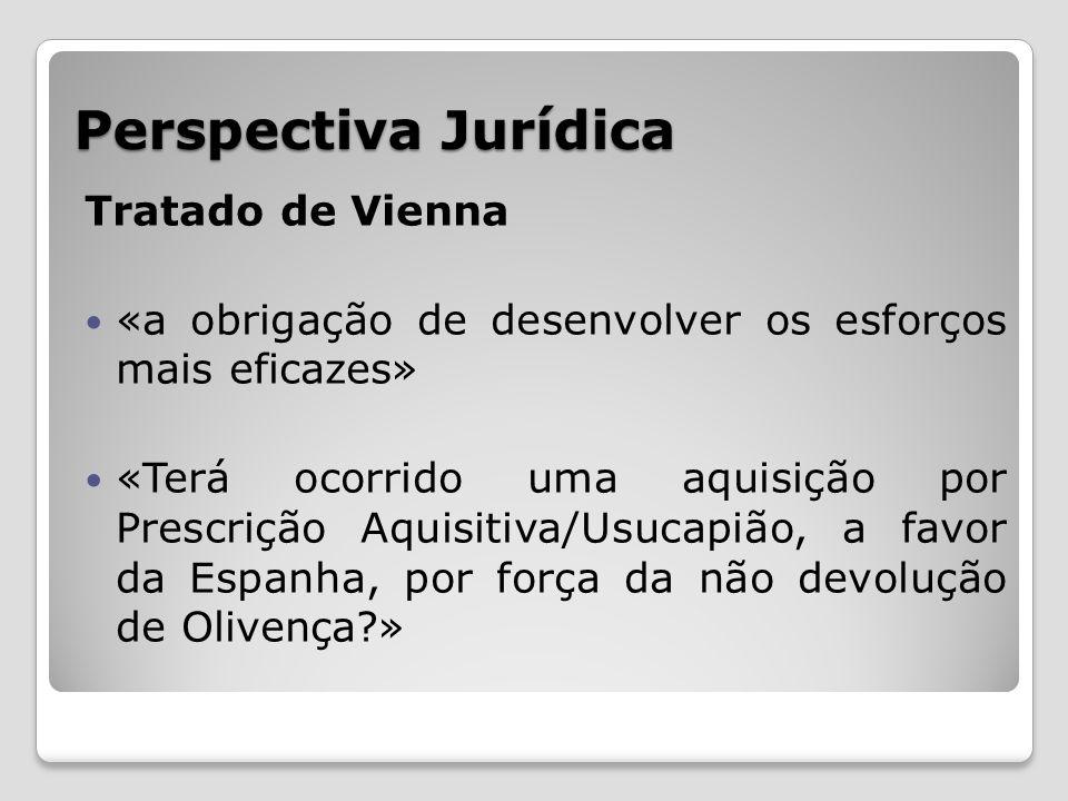 Perspectiva Jurídica Tratado de Vienna