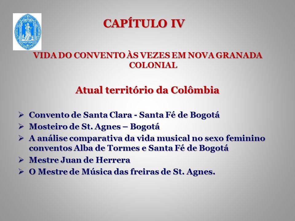 CAPÍTULO IV Atual território da Colômbia